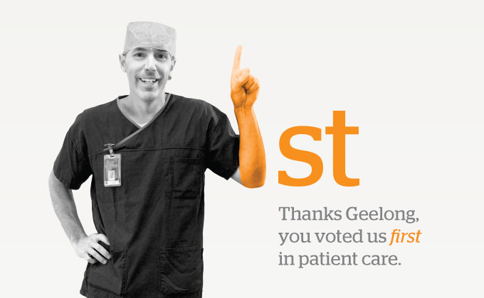 Patient satisfaction marketing campaign: St John of God Geelong Hospital